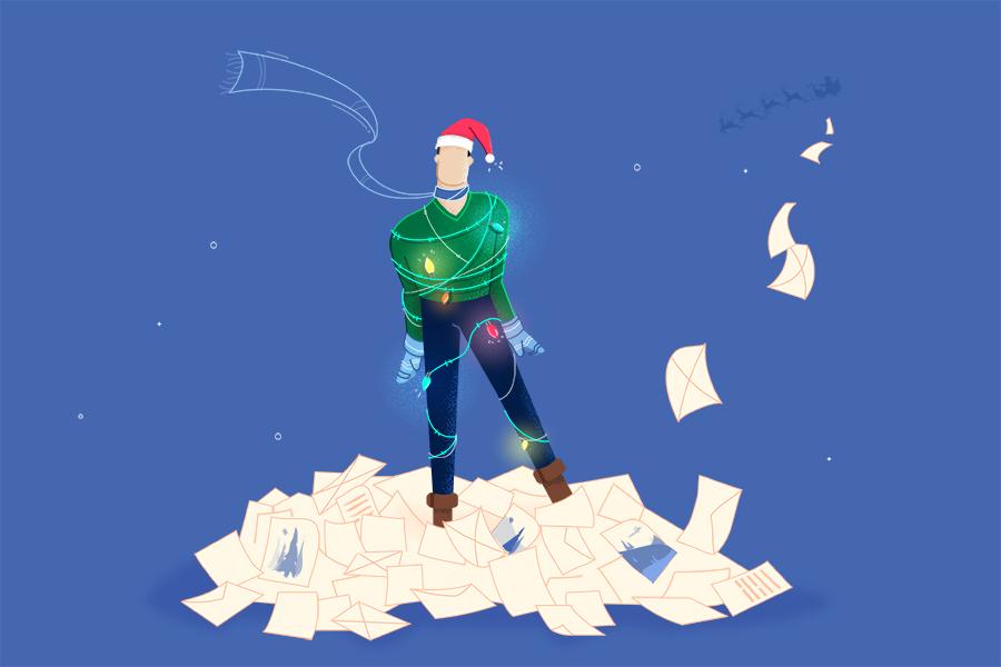 Cómo crear mágicas felicitaciones de Navidad