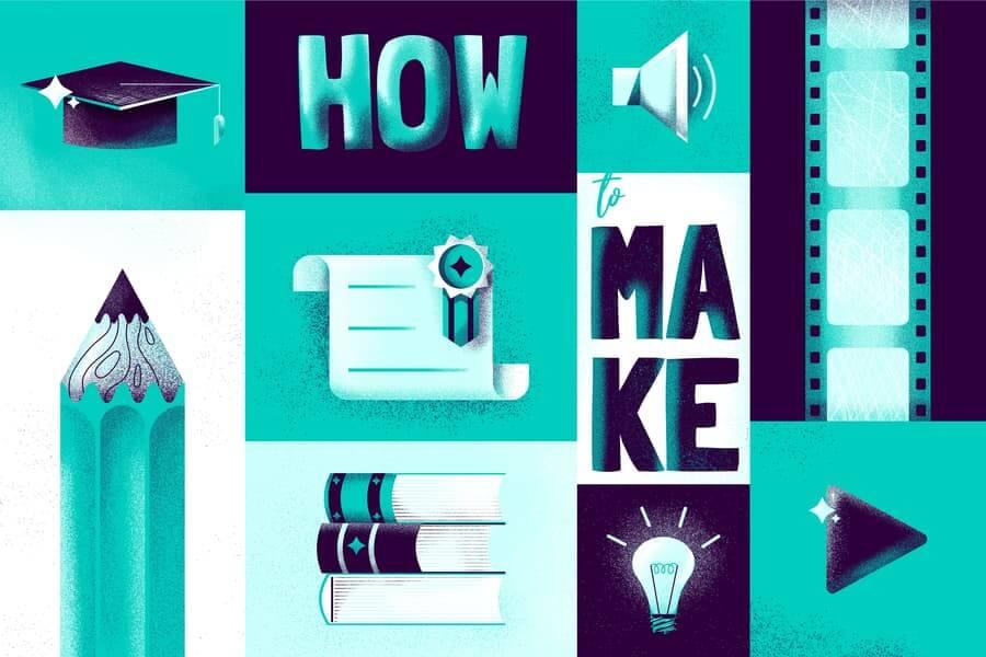 Création de vidéos et de présentations éducatives animées