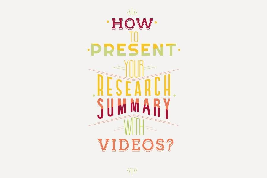 How to Create Research Summary Videos Online