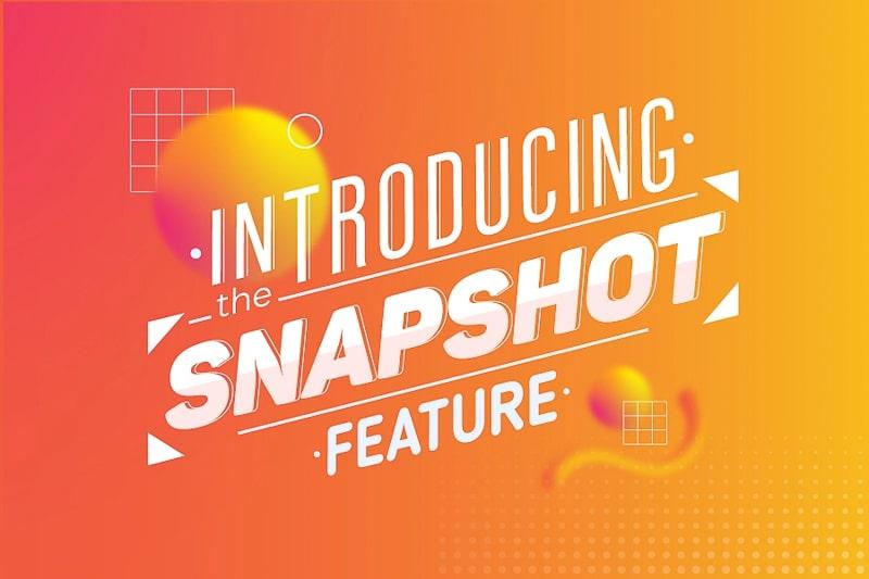 Presentamos la Función del Snapshot