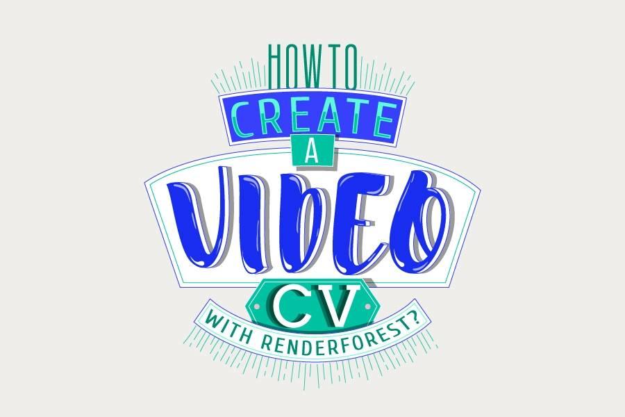 レンダーフォレストでCV動画を作る方法