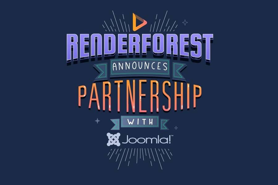 Renderforest Announces Partnership with Joomla!